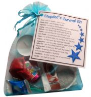 Stepdad's Survival Kit Gift  - Great novelty gift for birthday or christmas