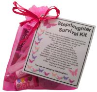 Stepdaughter Survival Kit Gift - Great present for Birthday, Christmas or just because...