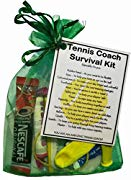 Tennis Coach Survival Kit Gift  - Tennis Coach gifts, gift for Tennis Coach, thank you gift for Tennis Coach gift
