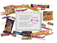 World's Best Mum Sweet Box-Great present for Mother's Day, Birthday, Christmas or just because?
