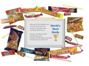 World's Best Uncle Sweet Box - Great Gift for all occasions!